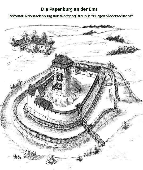 03 Rekonstruktion der Papenburg von Wolfgang Braun