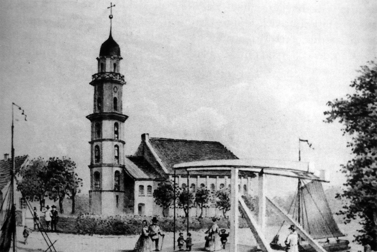 St. Michael um 1900