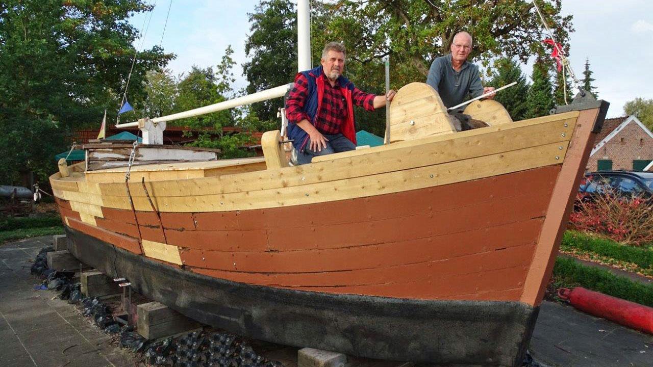 Muttschiff Angela Restaurierung