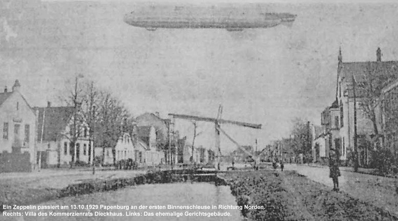 001-1Zeppelin-über-Papenburg-1929